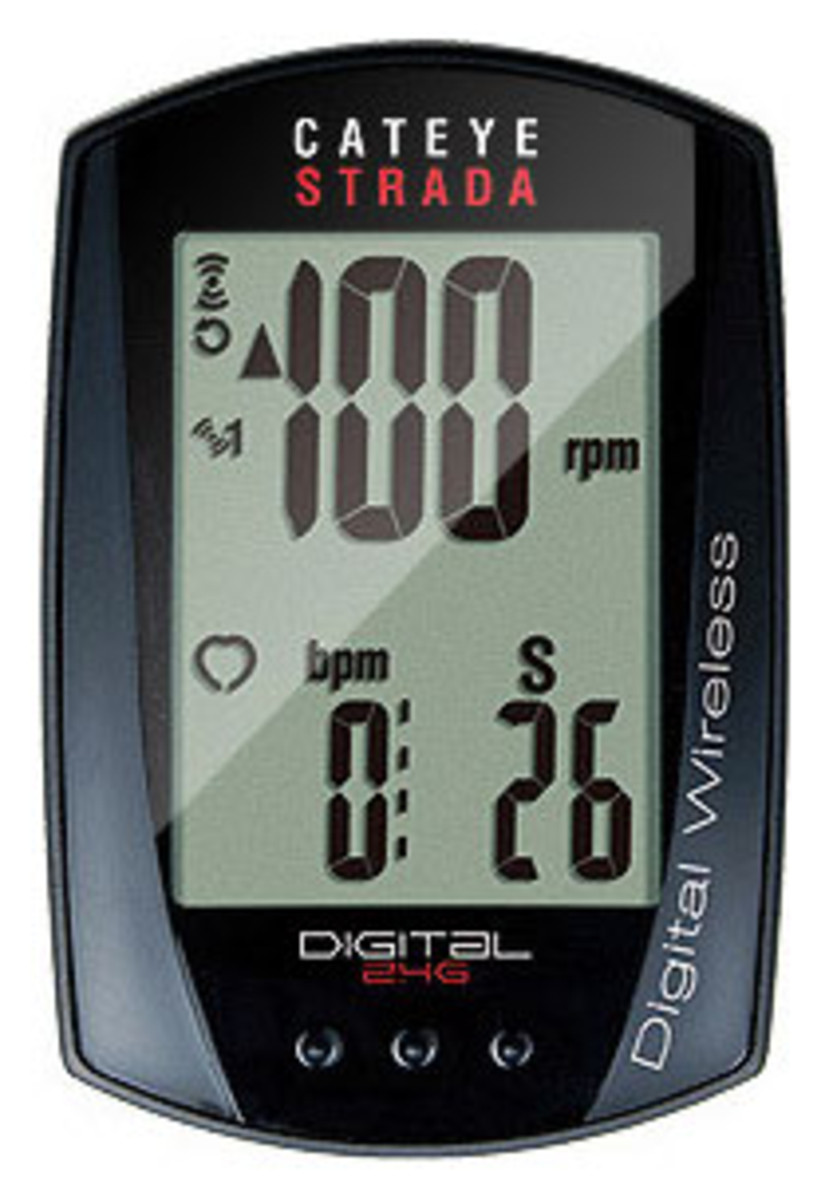 CatEye Strada Digital Double Wireless Spd Cdc CC-RD410DW